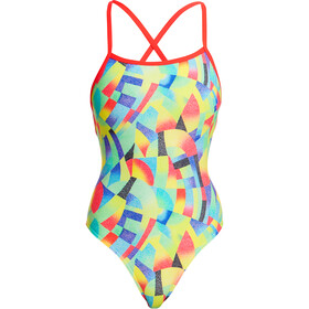 Funkita Strapped In One Piece Badeanzug Damen point break